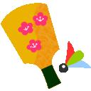 羽子板と羽