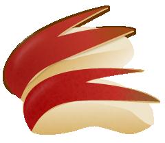 うさぎりんごイラスト
