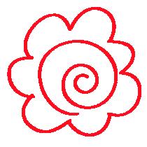花丸イラスト画像色鉛筆