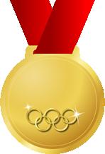 オリンピック金メダル画像