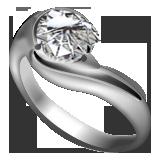 ダイヤ指輪プラチナ