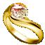 ダイヤ指輪ゴールド小
