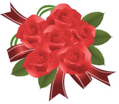 薔薇レッド bouquet