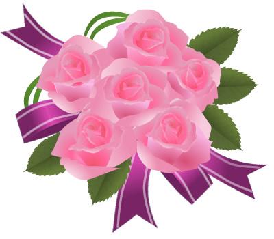 薔薇(バラ)画像 ピンク